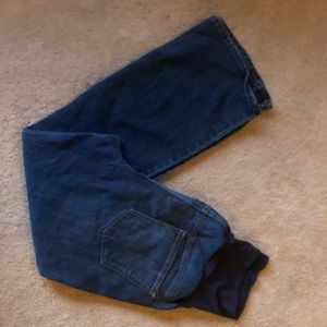 Old navy plus size maternity jeans